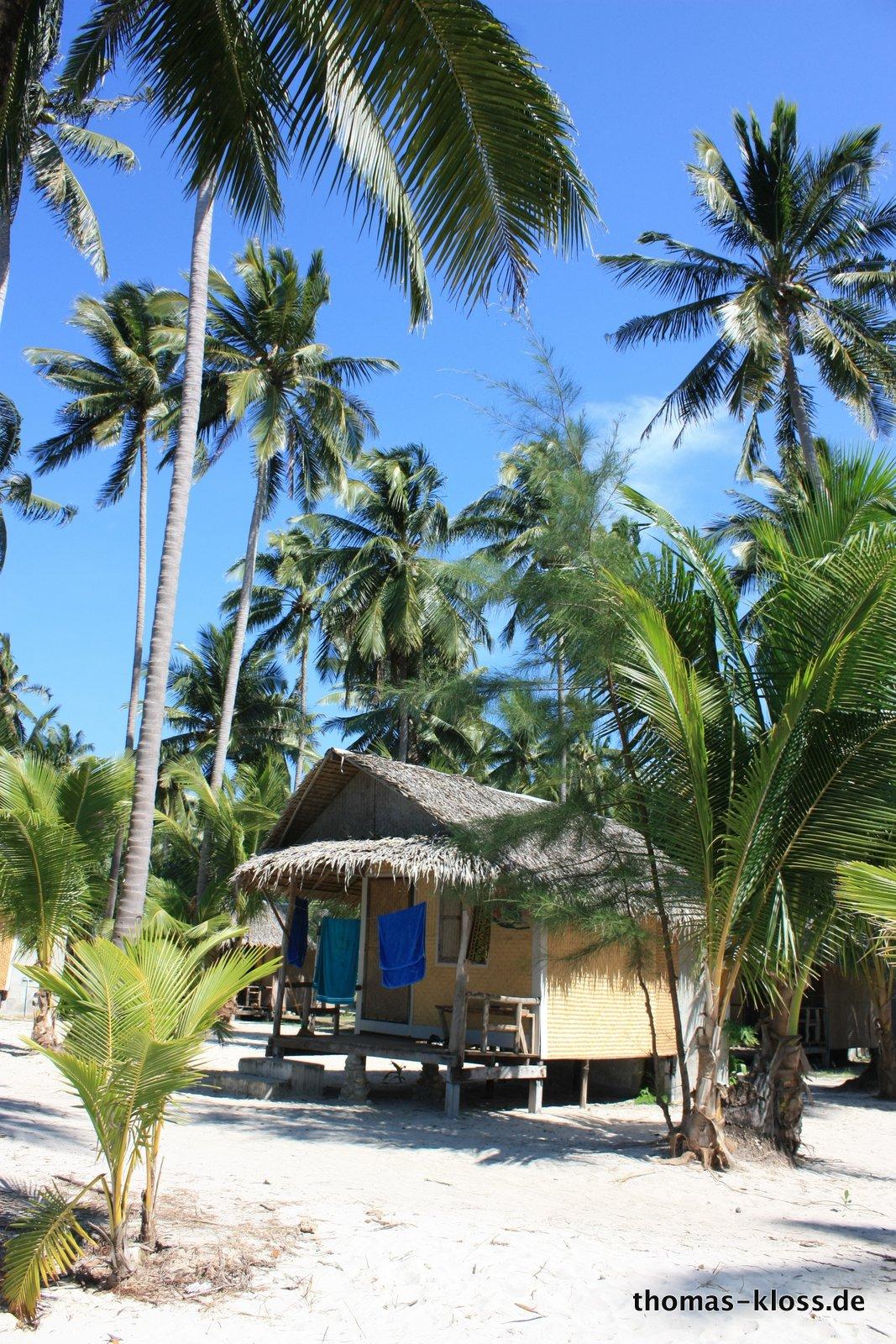 Tiger Hut Bungalows für 600 Baht/pro Tag